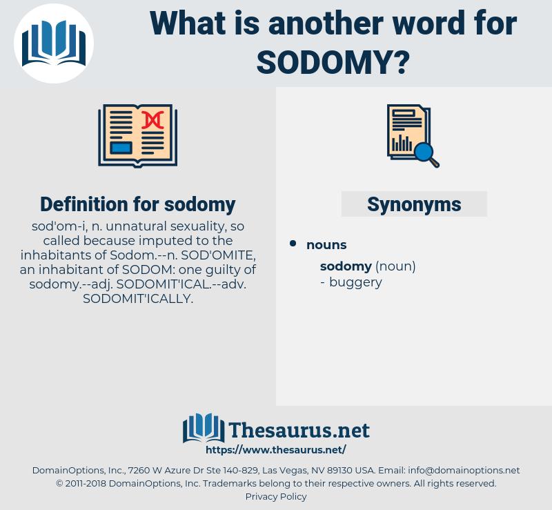 sodomy, synonym sodomy, another word for sodomy, words like sodomy, thesaurus sodomy