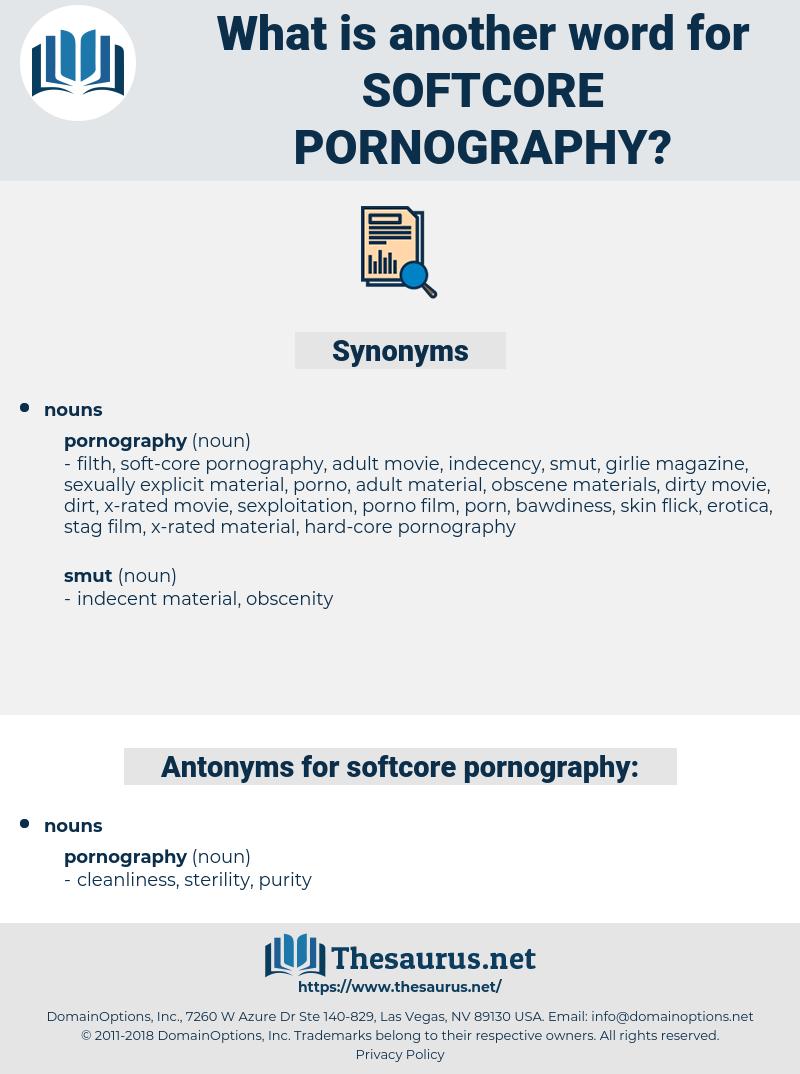 softcore pornography, synonym softcore pornography, another word for softcore pornography, words like softcore pornography, thesaurus softcore pornography