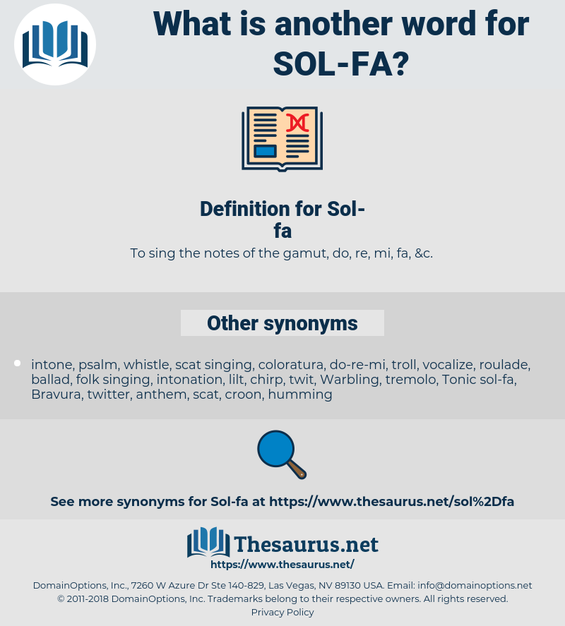 Sol-fa, synonym Sol-fa, another word for Sol-fa, words like Sol-fa, thesaurus Sol-fa