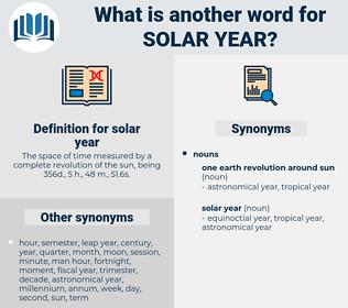 solar year, synonym solar year, another word for solar year, words like solar year, thesaurus solar year