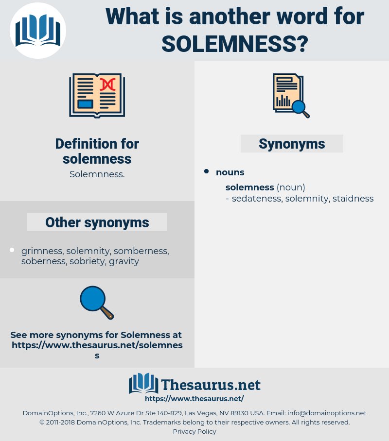 solemness, synonym solemness, another word for solemness, words like solemness, thesaurus solemness