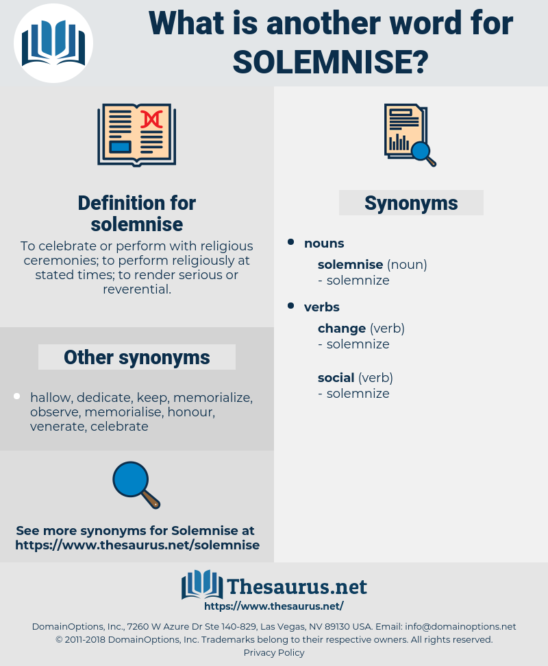 solemnise, synonym solemnise, another word for solemnise, words like solemnise, thesaurus solemnise
