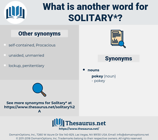 solitary, synonym solitary, another word for solitary, words like solitary, thesaurus solitary