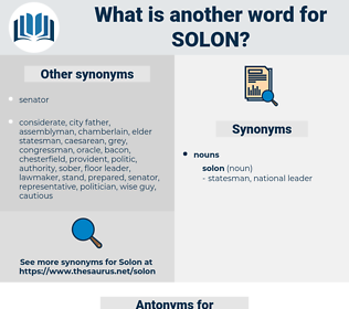solon, synonym solon, another word for solon, words like solon, thesaurus solon