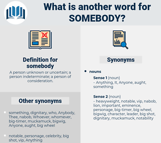 somebody, synonym somebody, another word for somebody, words like somebody, thesaurus somebody