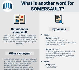 somersault, synonym somersault, another word for somersault, words like somersault, thesaurus somersault