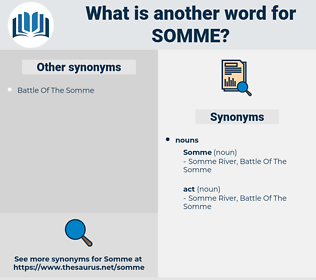 somme, synonym somme, another word for somme, words like somme, thesaurus somme