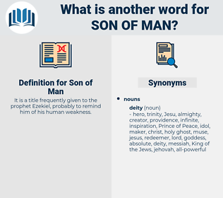 Son of Man, synonym Son of Man, another word for Son of Man, words like Son of Man, thesaurus Son of Man