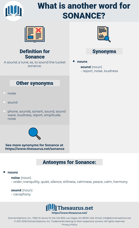 Sonance, synonym Sonance, another word for Sonance, words like Sonance, thesaurus Sonance