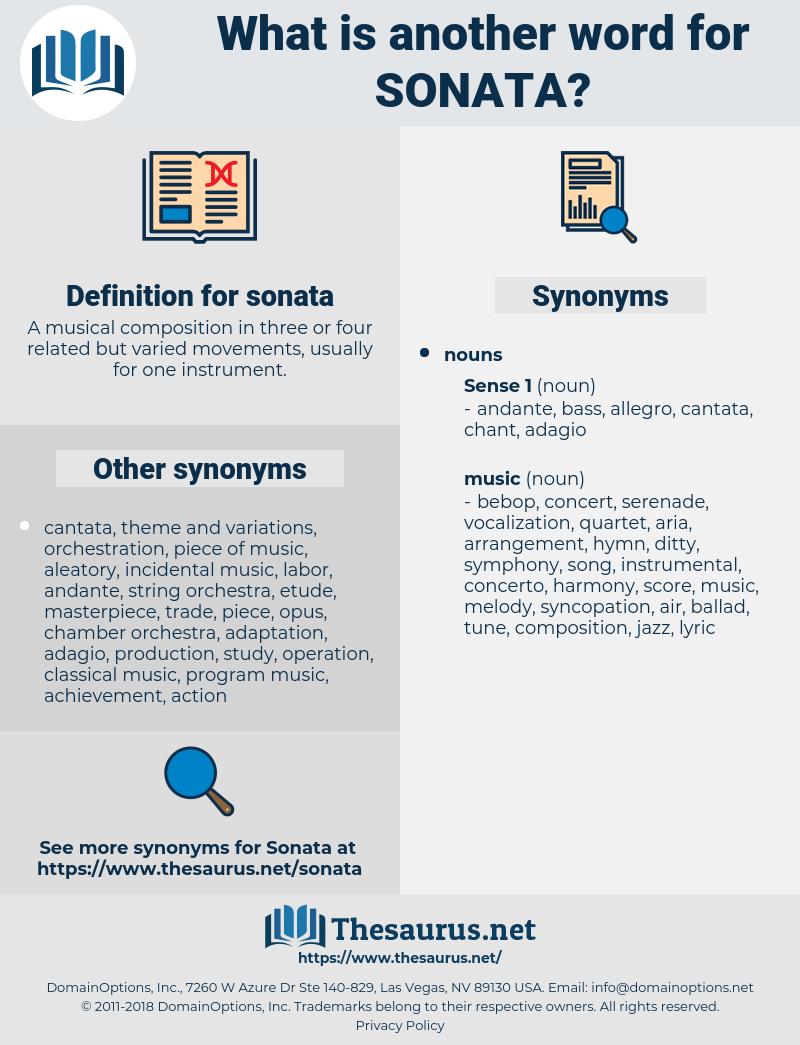 sonata, synonym sonata, another word for sonata, words like sonata, thesaurus sonata