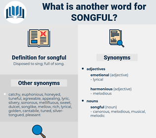 songful, synonym songful, another word for songful, words like songful, thesaurus songful