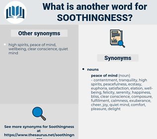 soothingness, synonym soothingness, another word for soothingness, words like soothingness, thesaurus soothingness