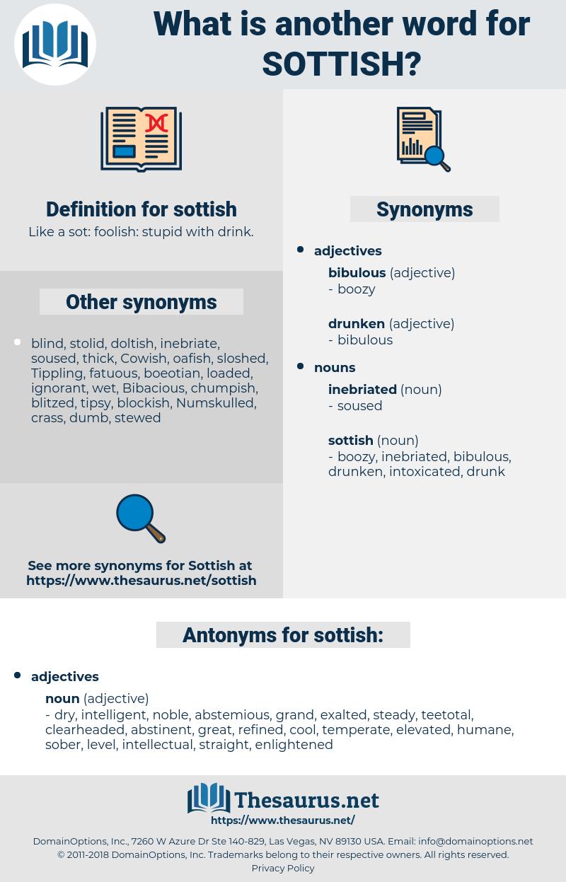 sottish, synonym sottish, another word for sottish, words like sottish, thesaurus sottish