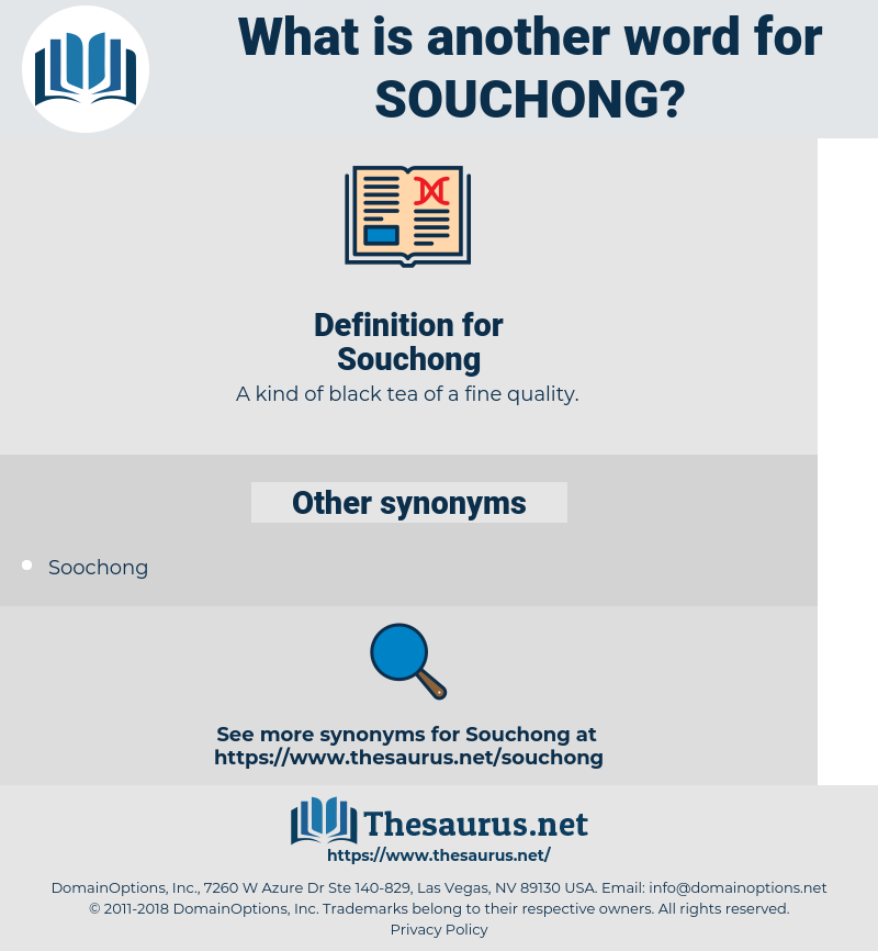 Souchong, synonym Souchong, another word for Souchong, words like Souchong, thesaurus Souchong