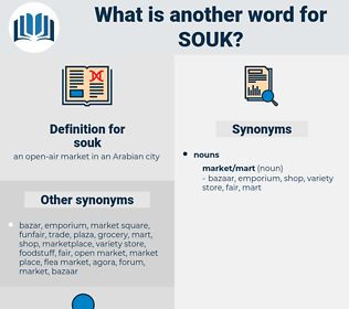 souk, synonym souk, another word for souk, words like souk, thesaurus souk