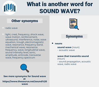 sound wave, synonym sound wave, another word for sound wave, words like sound wave, thesaurus sound wave