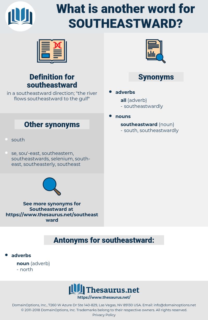 southeastward, synonym southeastward, another word for southeastward, words like southeastward, thesaurus southeastward