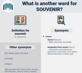 souvenir, synonym souvenir, another word for souvenir, words like souvenir, thesaurus souvenir