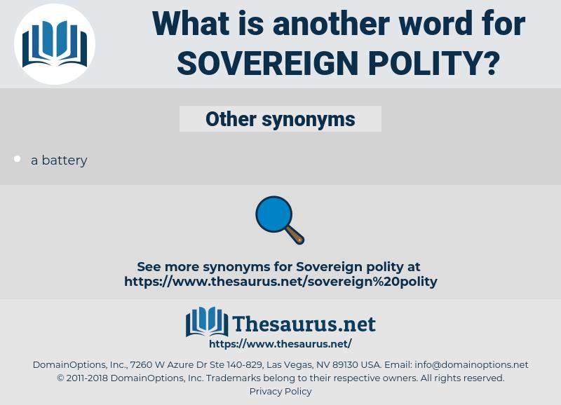 sovereign polity, synonym sovereign polity, another word for sovereign polity, words like sovereign polity, thesaurus sovereign polity