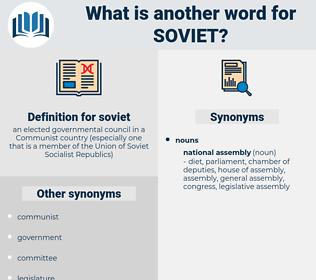 soviet, synonym soviet, another word for soviet, words like soviet, thesaurus soviet