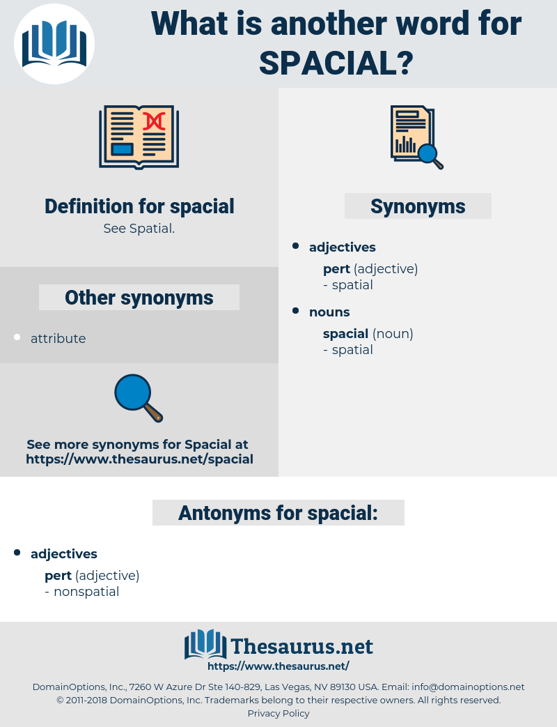 spacial, synonym spacial, another word for spacial, words like spacial, thesaurus spacial