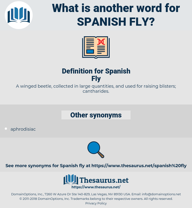 Spanish Fly, synonym Spanish Fly, another word for Spanish Fly, words like Spanish Fly, thesaurus Spanish Fly