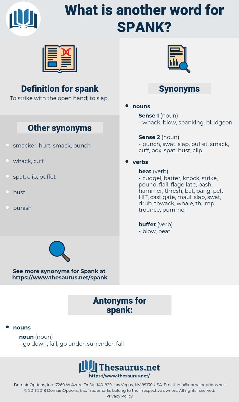 spank, synonym spank, another word for spank, words like spank, thesaurus spank