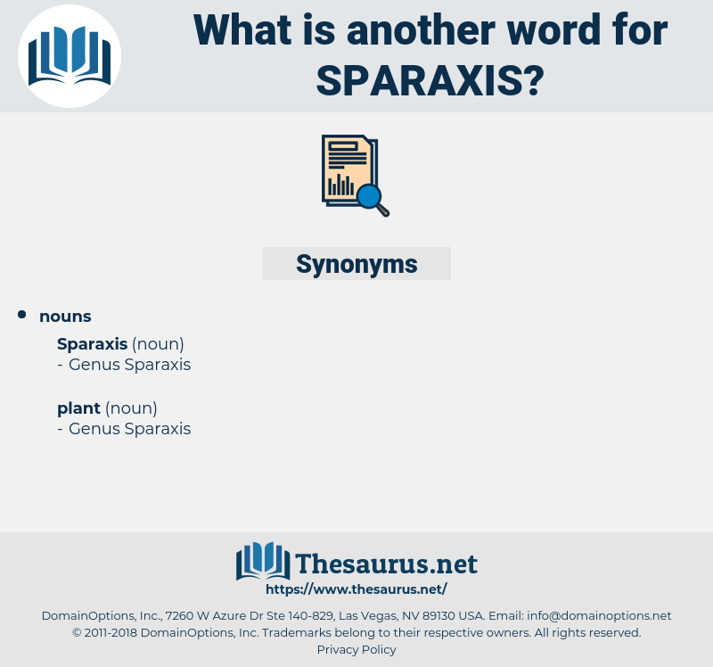 sparaxis, synonym sparaxis, another word for sparaxis, words like sparaxis, thesaurus sparaxis