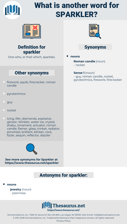 sparkler, synonym sparkler, another word for sparkler, words like sparkler, thesaurus sparkler