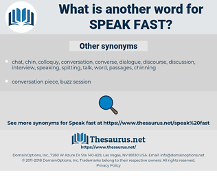 speak fast, synonym speak fast, another word for speak fast, words like speak fast, thesaurus speak fast