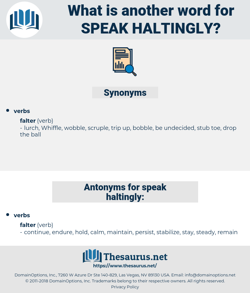 speak haltingly, synonym speak haltingly, another word for speak haltingly, words like speak haltingly, thesaurus speak haltingly