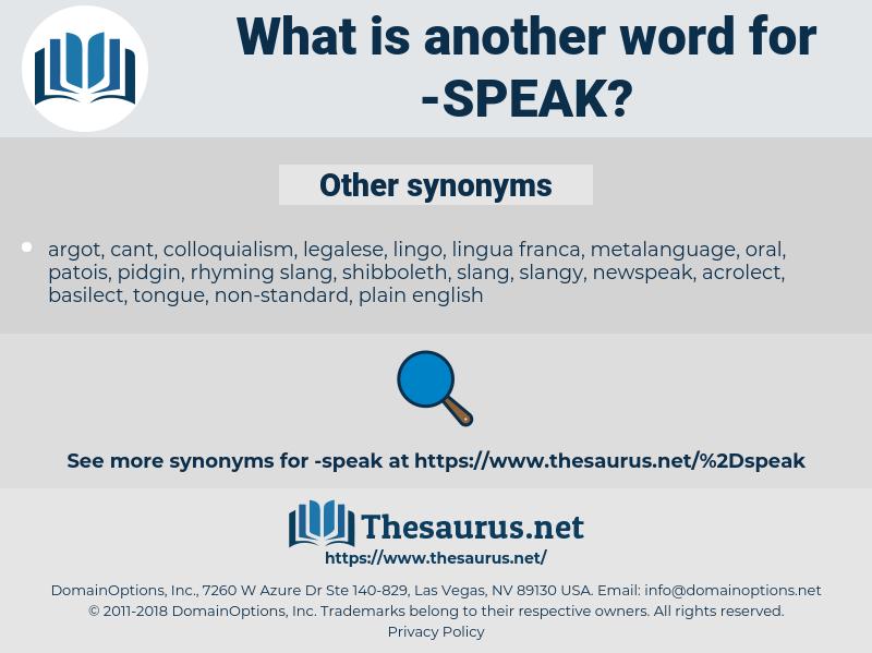 speak, synonym speak, another word for speak, words like speak, thesaurus speak