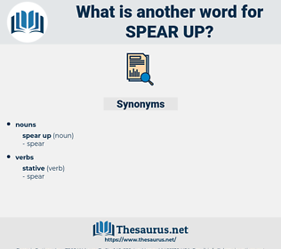 spear up, synonym spear up, another word for spear up, words like spear up, thesaurus spear up