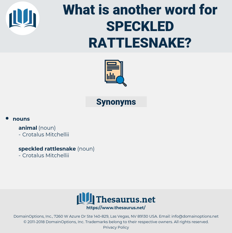 speckled rattlesnake, synonym speckled rattlesnake, another word for speckled rattlesnake, words like speckled rattlesnake, thesaurus speckled rattlesnake