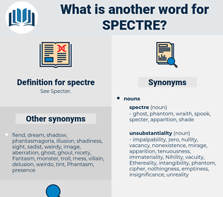 spectre, synonym spectre, another word for spectre, words like spectre, thesaurus spectre
