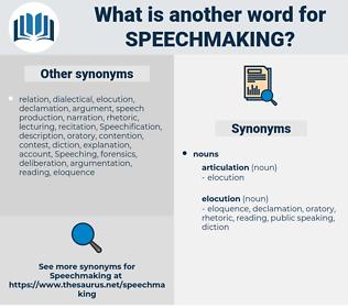 speechmaking, synonym speechmaking, another word for speechmaking, words like speechmaking, thesaurus speechmaking