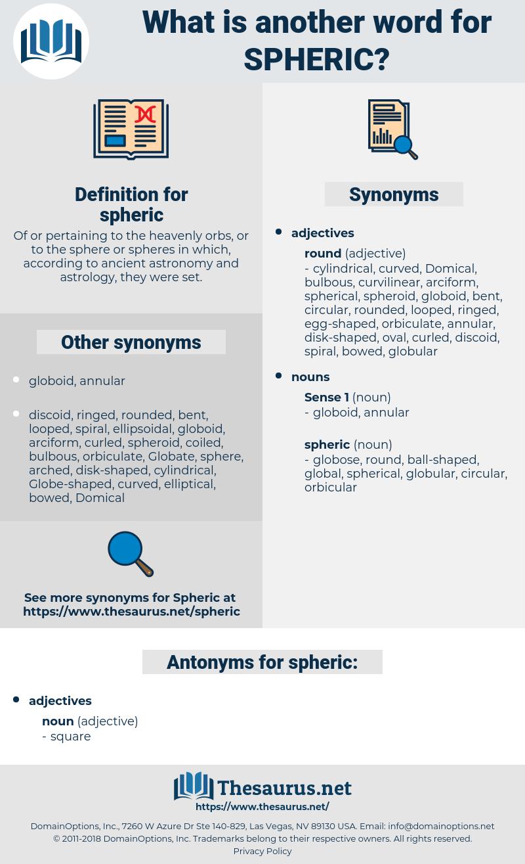 spheric, synonym spheric, another word for spheric, words like spheric, thesaurus spheric