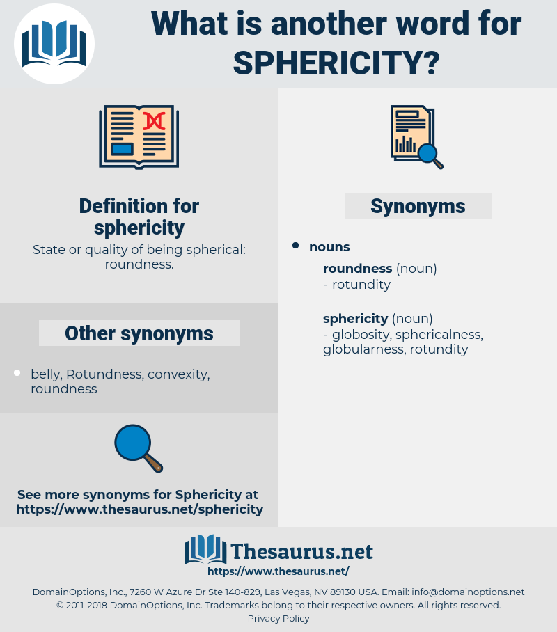 sphericity, synonym sphericity, another word for sphericity, words like sphericity, thesaurus sphericity