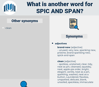 spic-and-span, synonym spic-and-span, another word for spic-and-span, words like spic-and-span, thesaurus spic-and-span