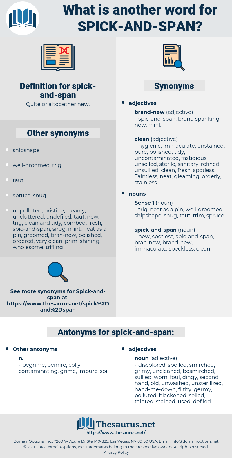spick-and-span, synonym spick-and-span, another word for spick-and-span, words like spick-and-span, thesaurus spick-and-span