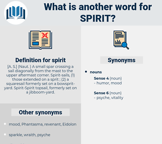 spirit, synonym spirit, another word for spirit, words like spirit, thesaurus spirit