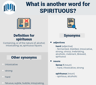 spirituous, synonym spirituous, another word for spirituous, words like spirituous, thesaurus spirituous