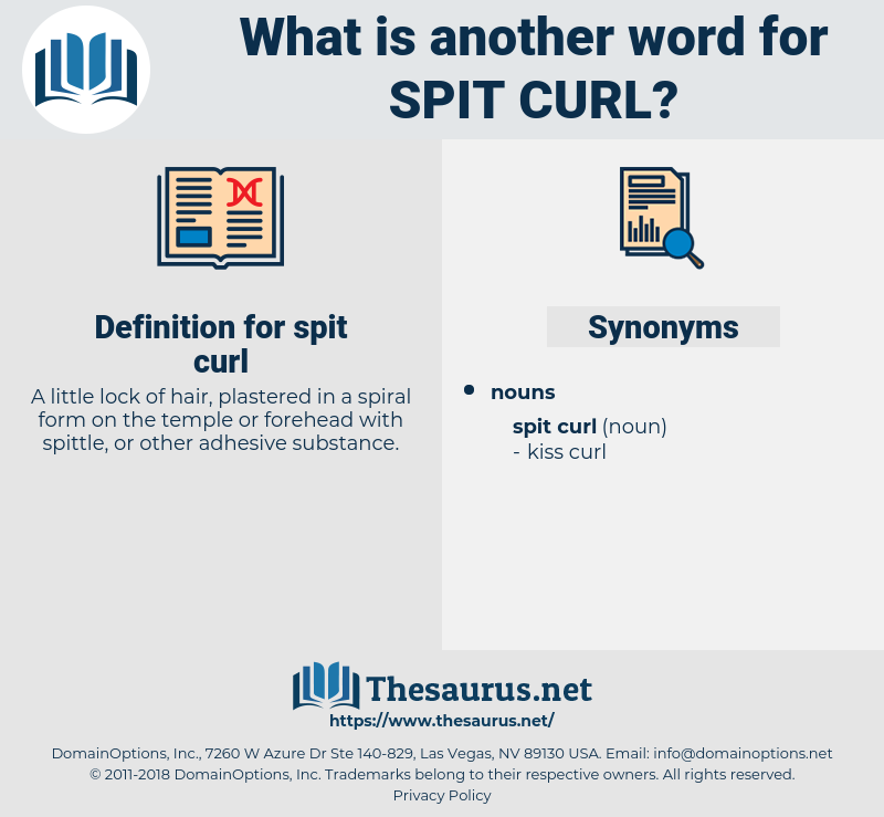 spit curl, synonym spit curl, another word for spit curl, words like spit curl, thesaurus spit curl