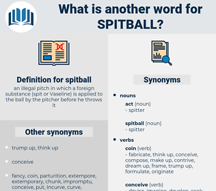spitball, synonym spitball, another word for spitball, words like spitball, thesaurus spitball