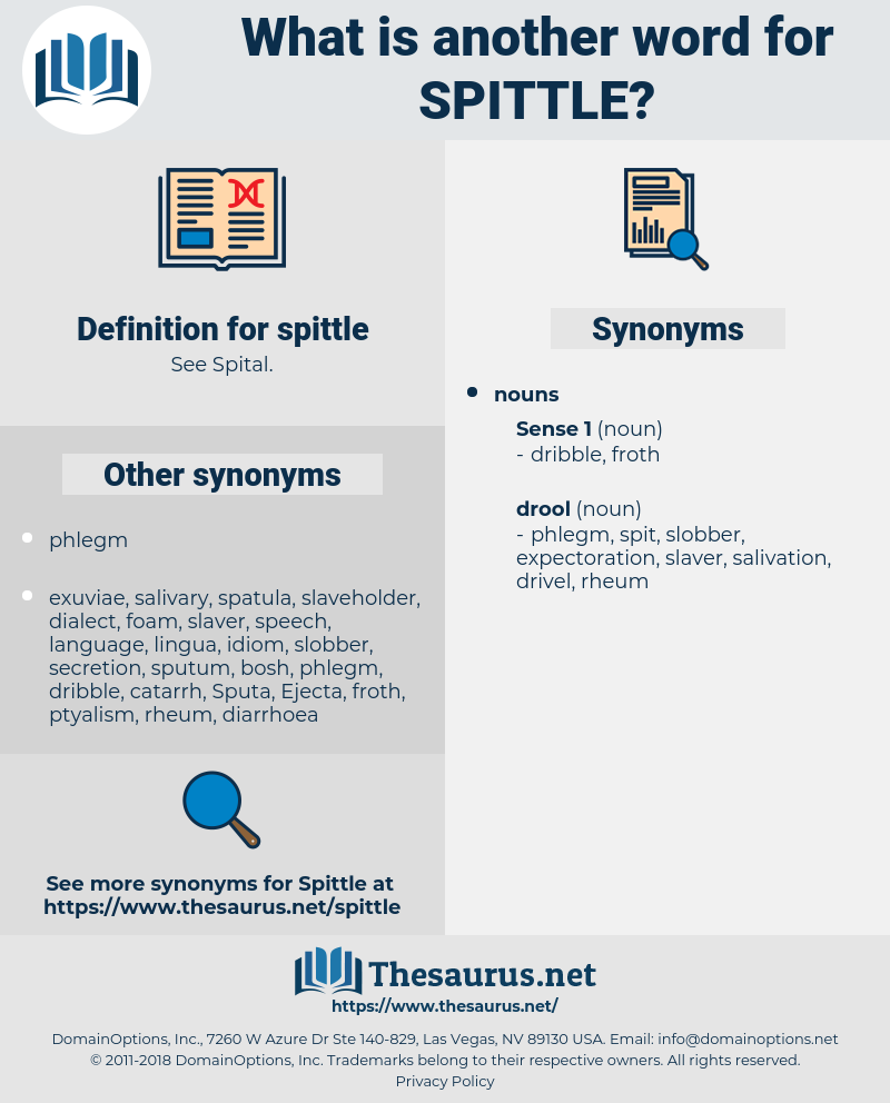 spittle, synonym spittle, another word for spittle, words like spittle, thesaurus spittle