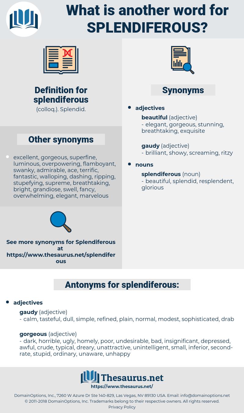 splendiferous, synonym splendiferous, another word for splendiferous, words like splendiferous, thesaurus splendiferous