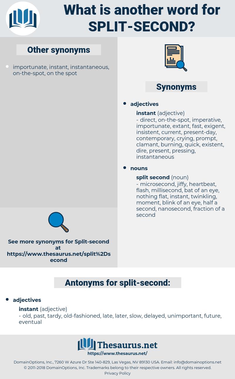 split second, synonym split second, another word for split second, words like split second, thesaurus split second