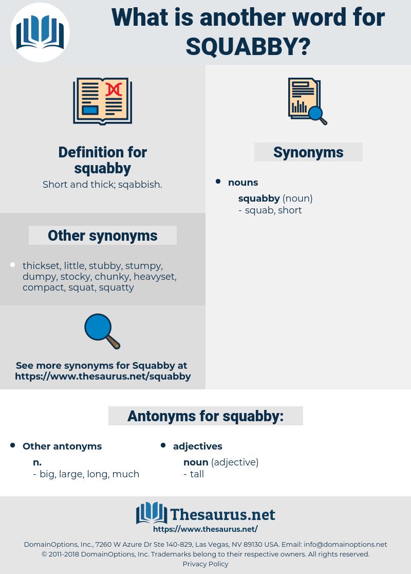 squabby, synonym squabby, another word for squabby, words like squabby, thesaurus squabby