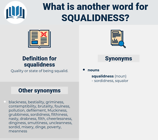 squalidness, synonym squalidness, another word for squalidness, words like squalidness, thesaurus squalidness