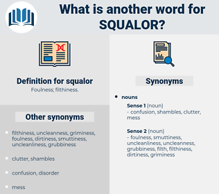 squalor, synonym squalor, another word for squalor, words like squalor, thesaurus squalor
